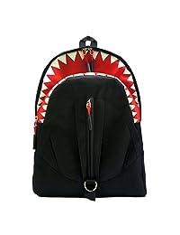 "Artone Shark Oxford Backpack School Daypack Fit 13"" Laptop Black"