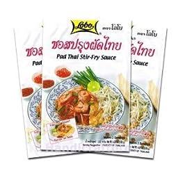Lobo Pad Thai Stir-fry Sauce (Pack of 3)