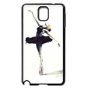 Tony Diy LIUMINGGUANG cell phone case cover Style-13 -Dancer,Love Dancing Design V5cRvGuPm3m protective case cover For Samsung Galaxy NOTE3 case cover