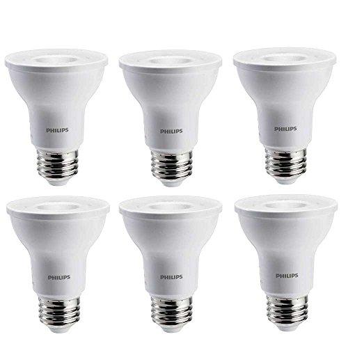 Philips 50 Watt Equivalent Bright White Dimmable PAR20 LE...
