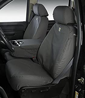Covercraft SS7432WFGY SeatSaver Second Row Waterproof Seat Cover Grey