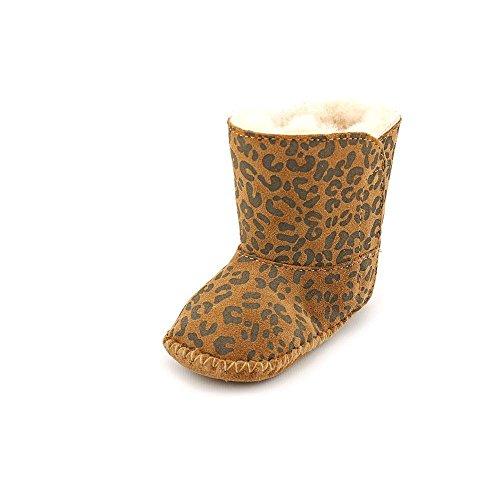 UGG Baby Cassie Leopard Booties XS (US 0-1 Infant) M (Ugg Australia Usa)