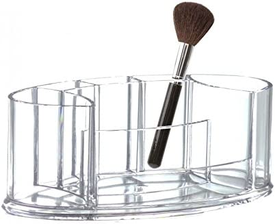 Opportunity 42H14118100 Organiseur Maquillage Acrylique Oval 22x12,5x8 cm Transparent