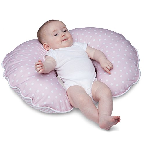 Boppy Pillow Slipcover, Classic Plus Confetti Dot and Stripe Pink by Boppy (Image #3)