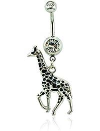 Giraffe Navel Belly Rings Body Piercing jewelry Nickel-free 14G …