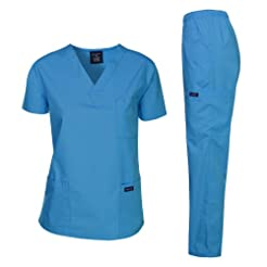 Dagacci Scrubs Medical Uniform Women and...