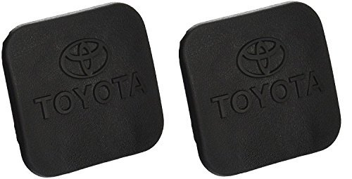 New OEM Genuine Toyota Hitch Plug Cover (2 Pack) PT228-35960-HP Fits 2'' Toyota Hitch Recievers by Toyota