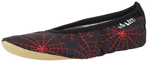 Lico Unisex Kids' G 1 Style Gymnastics Shoes Black (Black / Red) kWs1edET