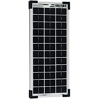 Amazon Com Zamp Solar 20 Watt Solar Panel For Solar