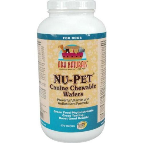 Ark Naturals Nu-Pet Canine Chewable Wafers — 270 Wafers, My Pet Supplies