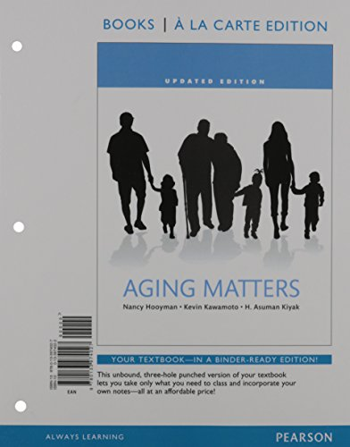 Aging Matters,Updated (Looseleaf) Text (eBook)