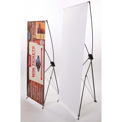 Used, Signworld X Banner stand portable trade show display for sale  Delivered anywhere in USA