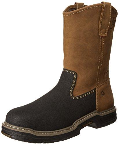 Wolverine Multishox Waterproof Steel Toe (Wolverine Men's W02285 Corsair Boot, Brown, 11 M US)