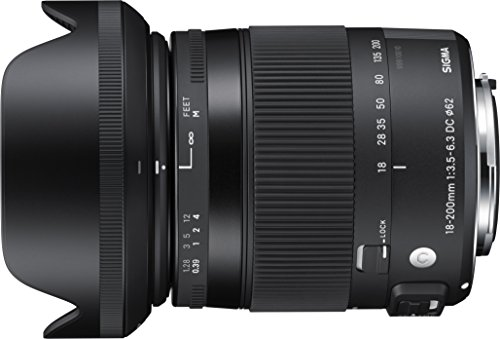 Sigma 18-200mm F3.5-6.3 Contemporary DC Macro OS HSM Lens for Pentax