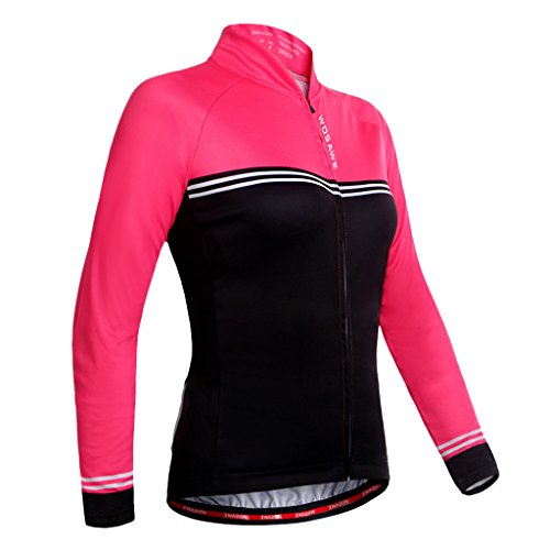 操縦する壁紙割り当てるSunniMix レディース用 高品質 自転車 ジャージー スポーツウェア 長袖 サイクリング服 伸縮性 快適 吸汗性 全4サイズ