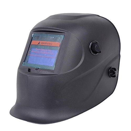 [NEW Pro Solar Welder Mask Auto-Darkening Welding Helmet Arc Tig mig grinding Black] (Dollar Jumbo Glasses)