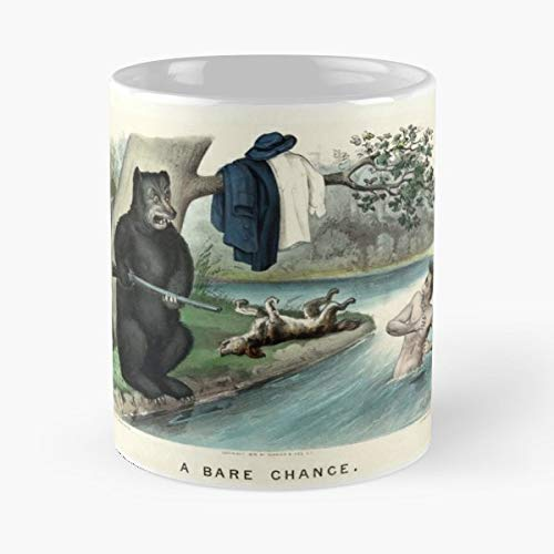 - Reproduction Popular 19th Century Lithograph - Ceramic Novelty Mugs 11 Oz, Funny Gift