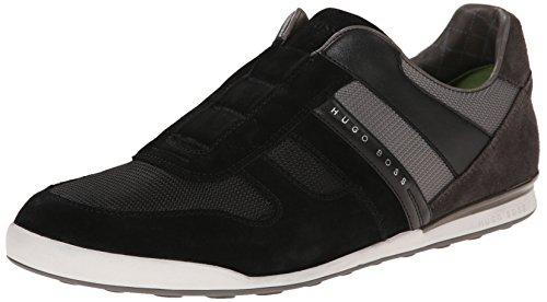 Baas Groen Van Hugo Baas Mens Akeen Schoon I Fashion Sneaker Zwart