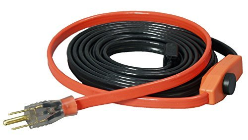Easy Heat Water Pipe Heating Cable 18 ' 120 V 7 W/' by Easy Heat, Inc