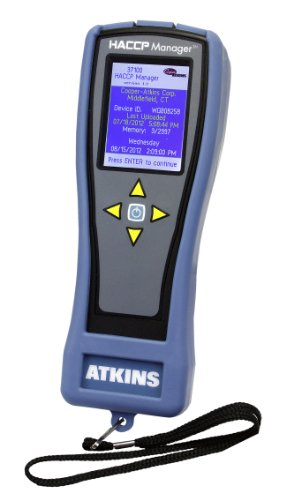 Cooper-Atkins 37100 Waterproof HACCP Manager Handheld Instrument, NSF Certified, -99.9° to 999.9°F Temperature Range by Cooper