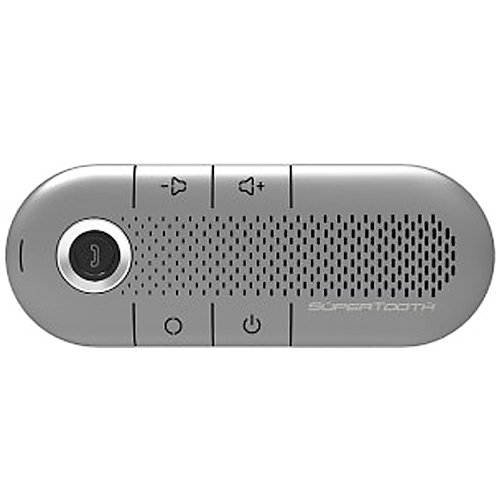 SuperTooth Crystal Silver Bluetooth Zero Installation In-Car Speakerphone (ver 3.0)