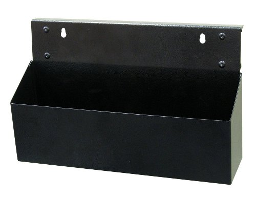 Triton Products KTI-72460 MagClip Powder Coated Steel Magnetic Tool Box 12-Inch L by 3-1/2-Inch W by 5-Inch H, Black
