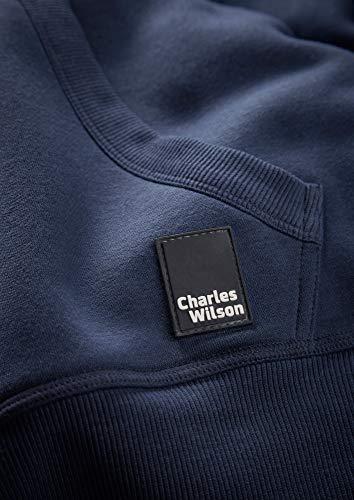 Navy Pour À Capuchon Homme Charles Wilson Chandail 6YIw04q
