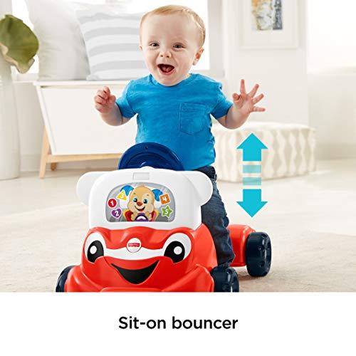 41lK4hy6CQL - Fisher-Price Laugh & Learn 3-in-1 Smart Car