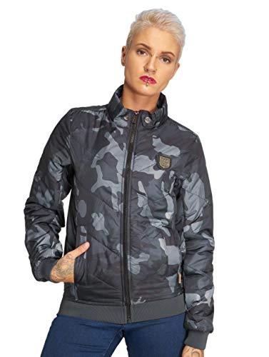 Lily Vestes veste Femme Mi Camouflage Yakuza Légère 488516 Manteaux amp; saison nbsp; Padded nwgWWzpZ4x