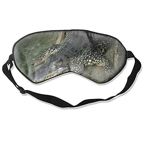 Crocodile Lie Down Huge Eye Mask Blindfold Eyeshade