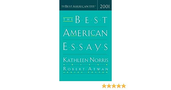 best american essays 2001