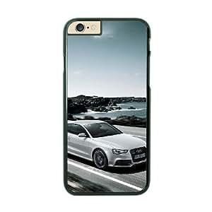 iPhone 6 Plus Black Cell Phone Case Audi STY791092 Phone Case For Men