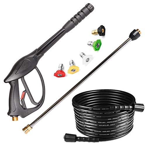 YAMATIC High Pressure Power Washer Replacement Kit,3700 PSI Spray Gun,1/4