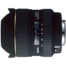 Sigma 12-24mm f/4.5-5.6 EX DG IF HSM Aspherical Ultra Wide Angle Zoom Lens for Canon SLR Cameras - International Version (No Warranty)