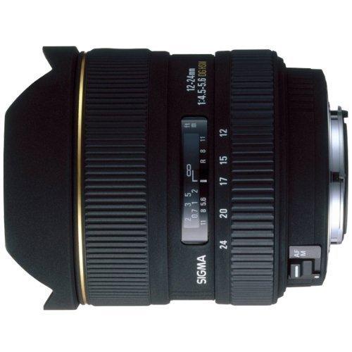 Sigma 12 – 24 mm f / 4.5 – 5.6 EX DG IF HSM Aspherical超広角ズームレンズfor Canon SLR Cameras – インターナショナルバージョン保証(no)   B01DFHNV28