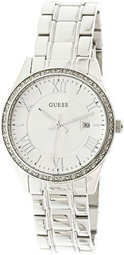 Guess-U0985L1-Silver-Stainless-Steel-Japanese-Quartz-Fashion-Watch