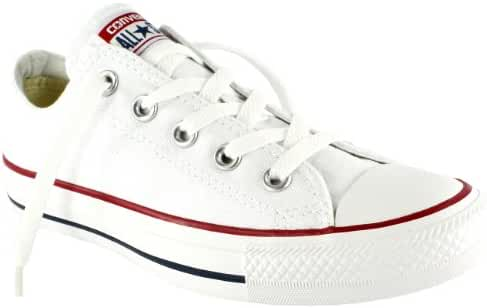 Converse Unisex Chuck Taylor All Star Low Top Optical White Sneakers - 13 Men 15 Women