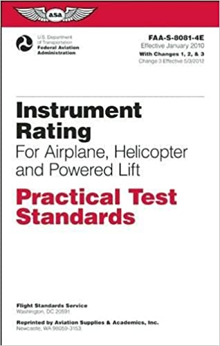 Instrument rating practical test standards for airplane helicopter instrument rating practical test standards for airplane helicopter and powered lift faa s 8081 4e practical test standards series january 2010 edition fandeluxe Images