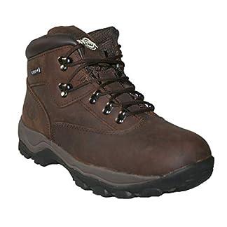 Northwest Territory Mens Leather Waterproof Walking Hiking Trekking Work Boots 2