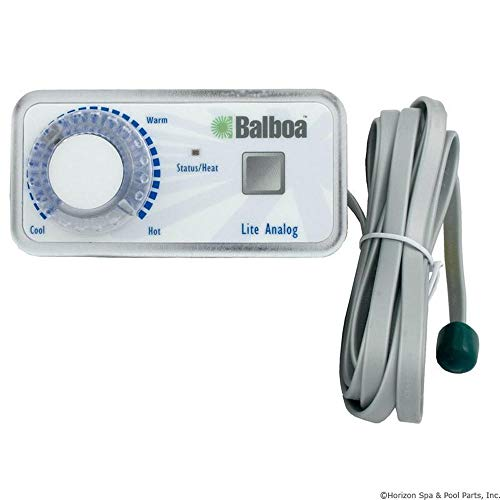(Balboa Water Group Topside, BWG Duplex, Button/T-Stat Knob, Analog)