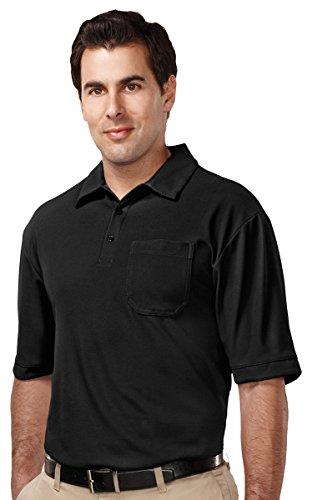 (Tri-Mountain Performance Waffle Knit Polo Shirt - K107P)