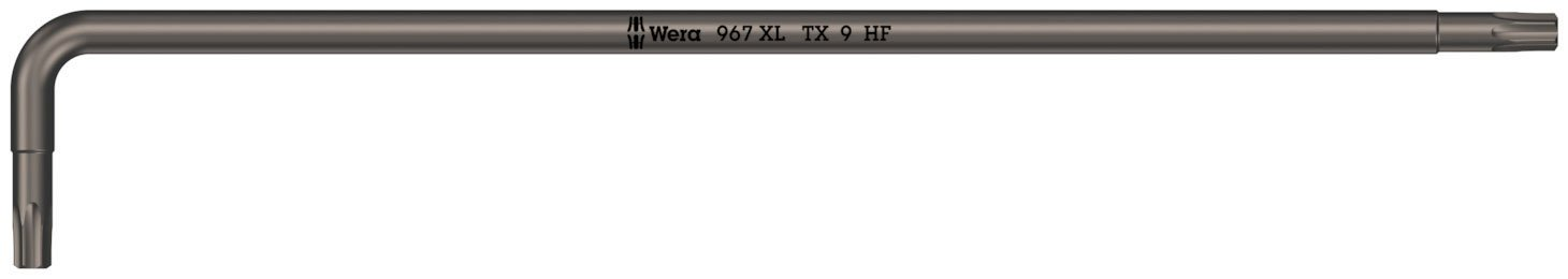 lang TX 8 967 XL HF TORX/® Winkelschl/üssel mit Haltefunktion