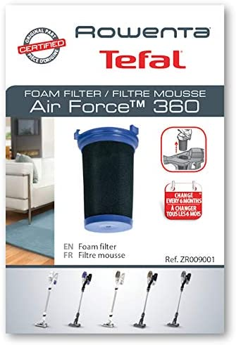 FITRE espuma Air Force 360 aspirador Rowenta (zr009001): Amazon.es: Hogar