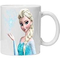 White Mug Frozen Elsa