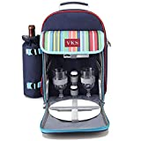 HONGLIAN Picnic Bag Insulation Package Ice Pack Backpack Portable Outdoor Food Preservation 24 Liters 382038cm (Color : Blue, Size : 382038cm)
