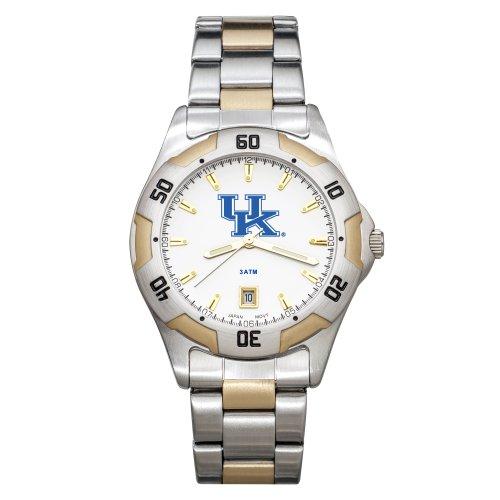 NCAA Kentucky Wildcats Men's All-Pro Two-Tone Watch by Logo Art