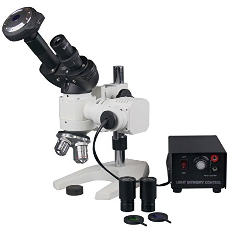 Radical 600x Binocular Metal Testing Metallurgical Top Light Microscope w USB PC Camera