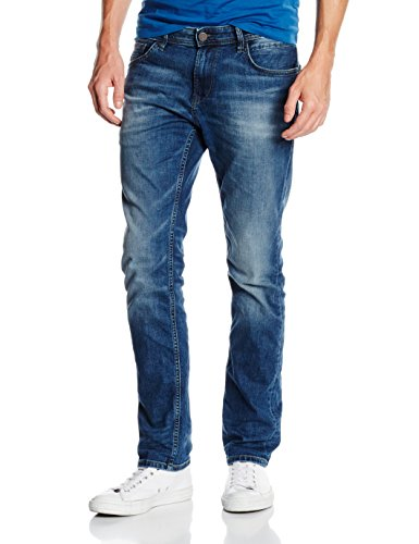 Stone Slim Uomo mid Tailor Wash Blu Mid Tom Denim Denim Jeans Aedan zqZxY1tw
