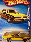 Hot Wheels 2010 084/240 Muscle Mania 06/10 '69 Pontiac GTO Judge (Yellow and Black) 1:64 Scale