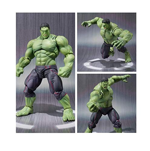 3HM Hulk Action Figures 20cm Marvel Avengers Super Hero Hulk Movable Action Figure Toys Doll with Box